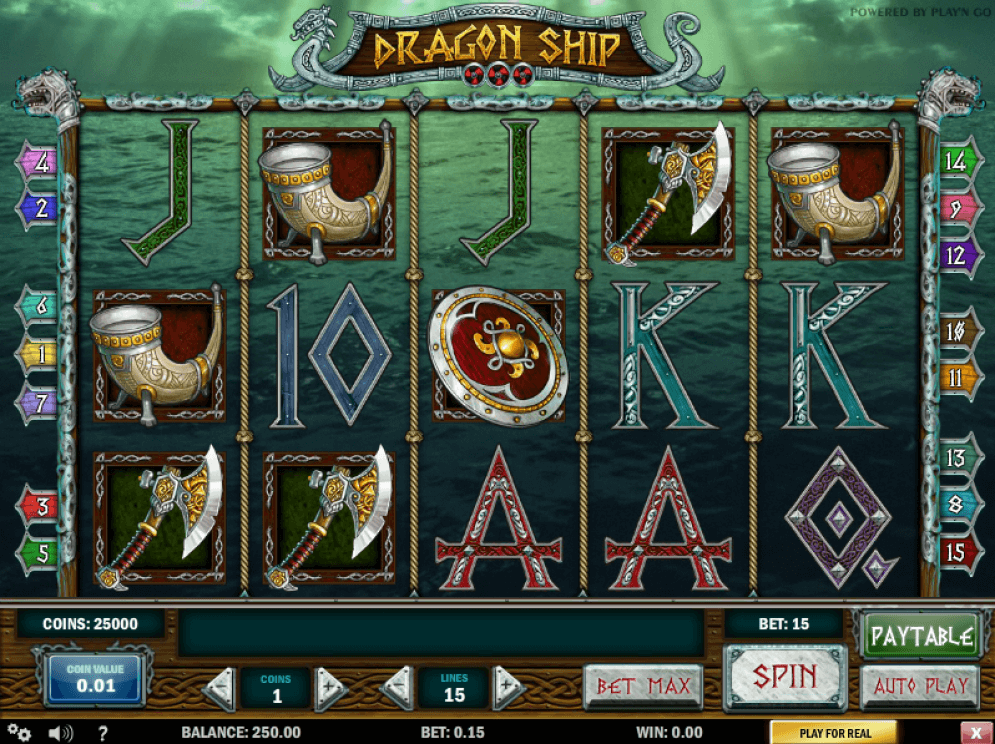 Dragon Ship Video Slots at a Glance Online